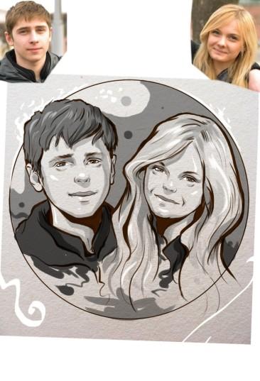 Заказать портрет на годовщину свадьбы в Хабаровске