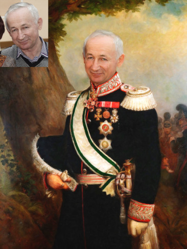 Где заказать исторический портрет по фото на холсте в Хабаровске?