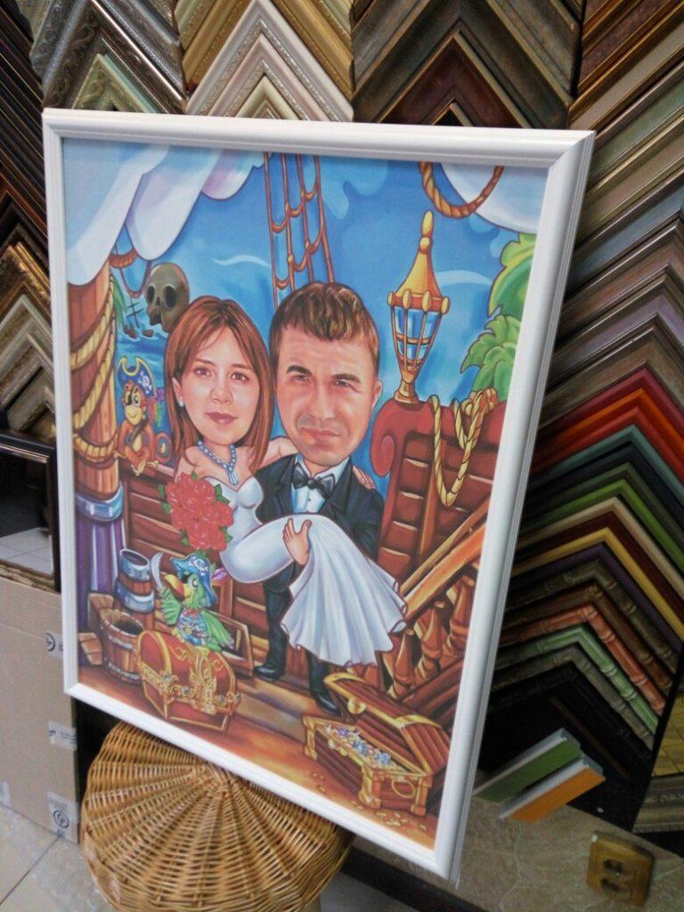 шарж по фото на заказ в хабаровске