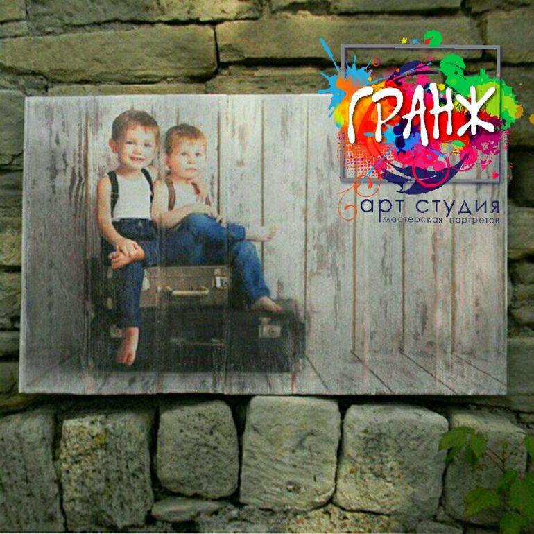 Картины на досках и портреты на дереве в стиле лофт на заказ купить Хабаровск