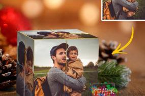 Фотокубик трансформер, купить в подарок Хабаровск