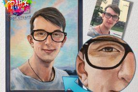 Портретная живопись маслом, купить в Хабаровске